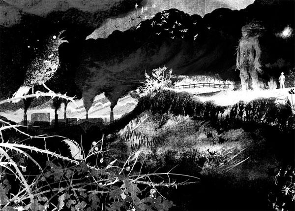 Image result for a monster calls illustration