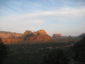 Sedona views. Perfect reading location.