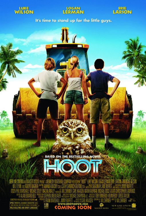 comparing hoot film and novel Although the movie hoot stays very close to the main themes in the book of the same name, and in many places, the plot line and dialogue are exactly the same, there are a number of differences between the two presentations the following are just a few of these differences beatrice's parents appear in the book, but not.
