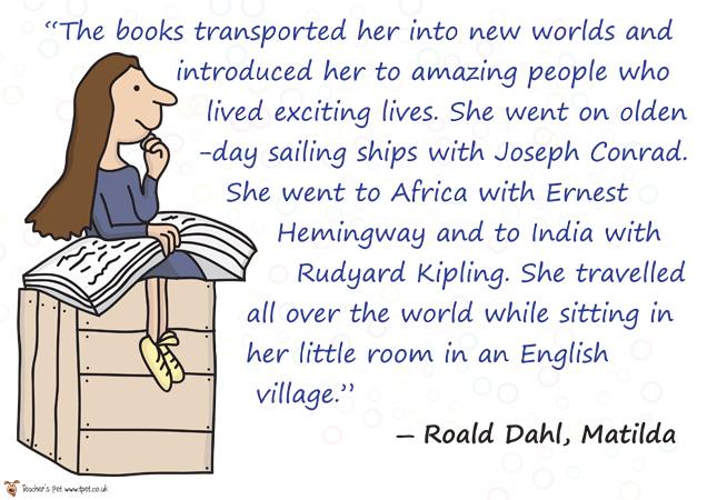 thursday quotables roald dahl knows it all bookshelf