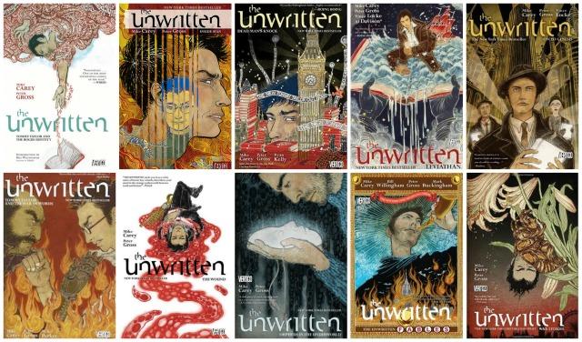 unwritten collage