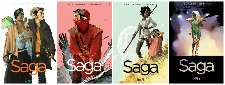 saga collage