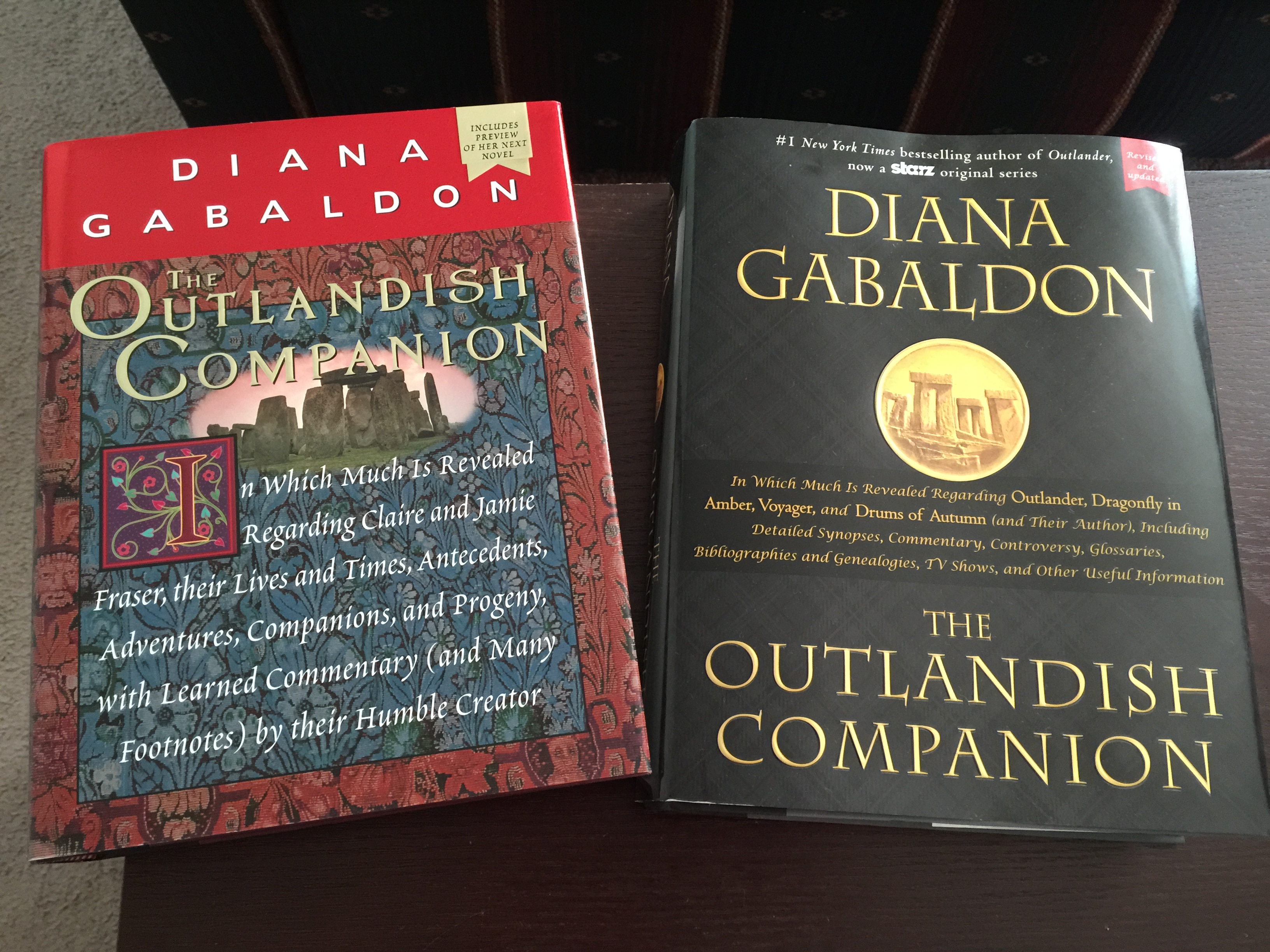 There are also some miscellaneous items, like The Exile (a graphic novel  retelling of Outlander), audiobook CDs of one of the Lord John books, ...