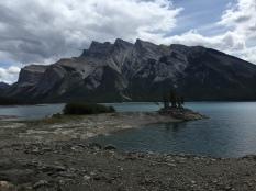 Lake Minnewanka, near Banff