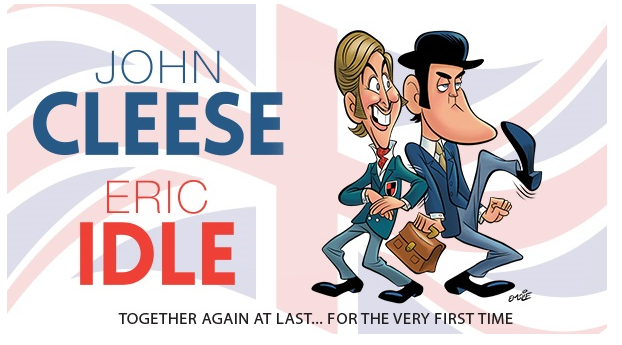 Went to see john cleese and eric idle and had a brilliant time they