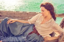 Outlander Caitriona Balfe and Sam Heughan photographed on the Outlander set in Cape Town, South Africa on March 8, 2017 by Ruven Afanador Balfeís Costume: Marnie Ormiston; Hair and Makeup: Anita Anderson; Set Dressers: Jason Broderick and Thomas Leppan; Production:†Baker Kent Productions