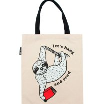 TOTE-1057_Sloth-Lets-Hang-and-Read-Slow-Readers_tote-bag-front_01_1800x1800